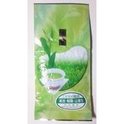 煎茶 高級茶100g入です。 有機JAS認定茶園で栽培したお茶です。甘味と共に、爽やかな味と香りが味わえる美味しいお茶です。お茶の時間に、お食事にも良く合います。お土産や御贈答にも御利用ください。100g詰袋は1袋~4袋まで送料198円です。